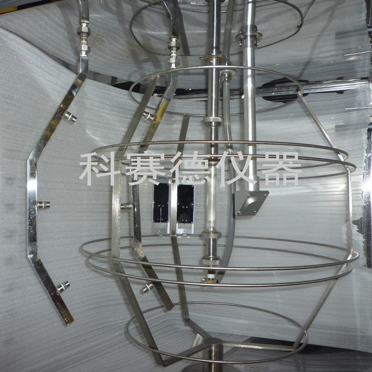 微电脑氙灯老化试验机内部灯管图片